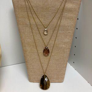 Chloe + Isabel Minaret 3 Row Convertible Necklace